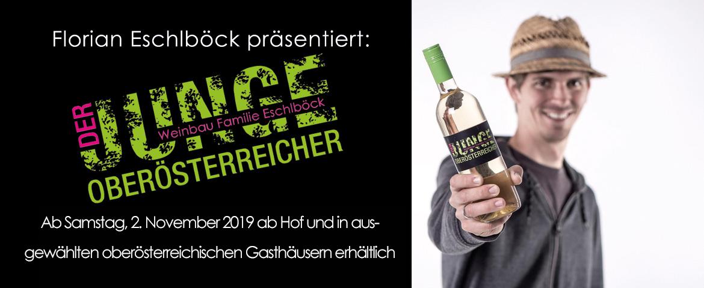 Der Jungwein von Winzer Florian Eschlböck aus Hörsching in Oberösterreich