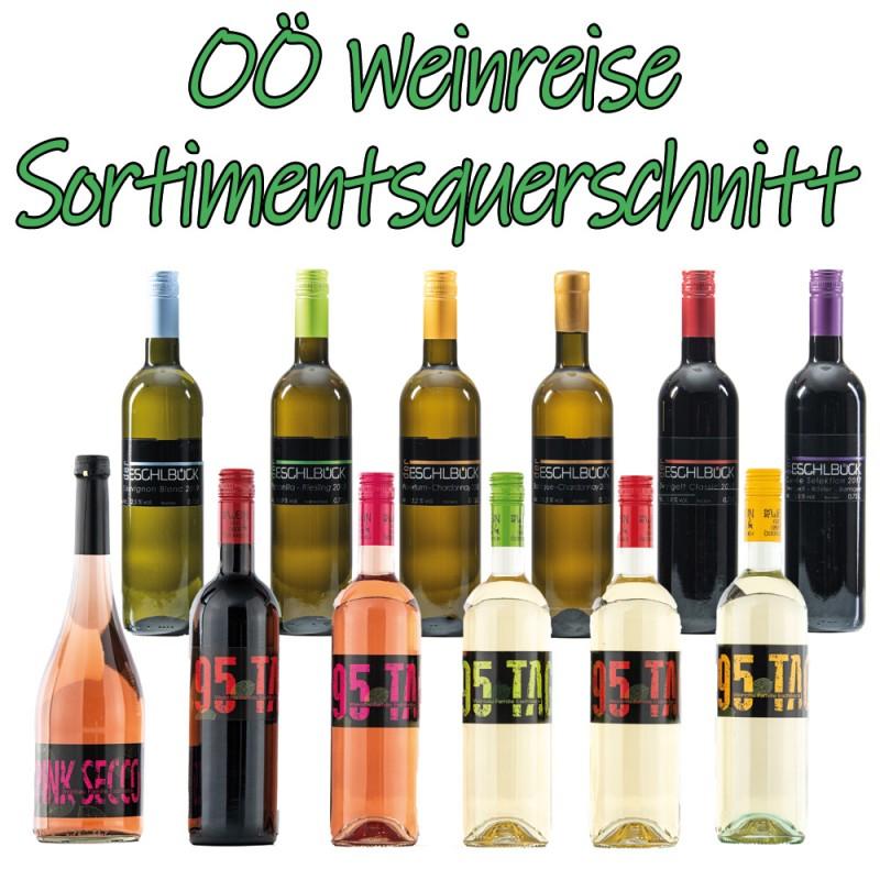 OÖ Weinreise - Sortimentsquerschnitt